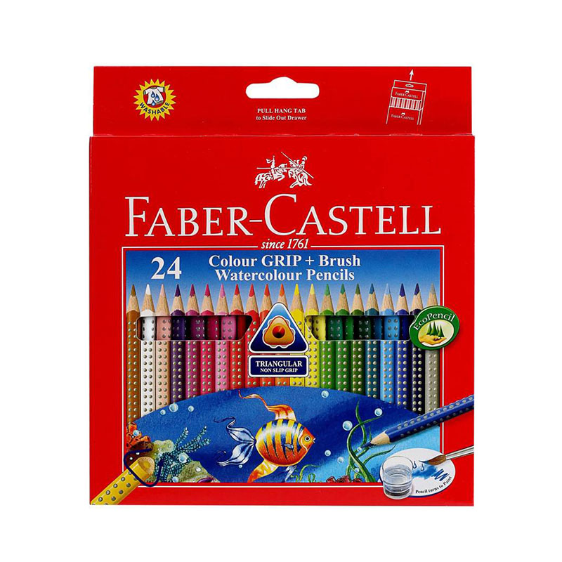 F.Castell Wcolour Pencil And 2B